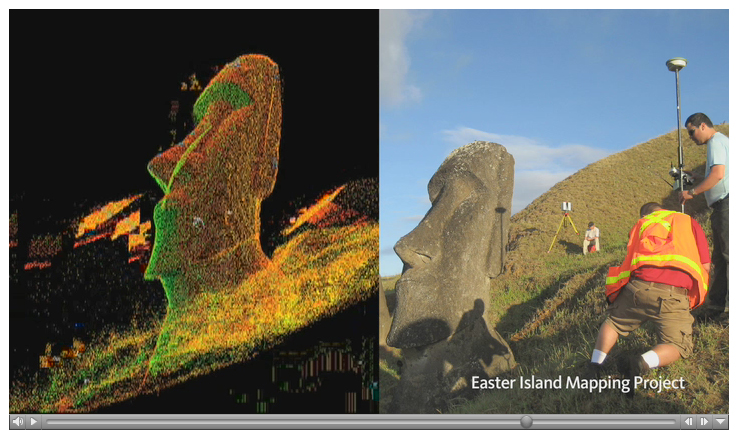 AutoDesk's Project on Easter Island