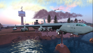 Military investment in Second Life
