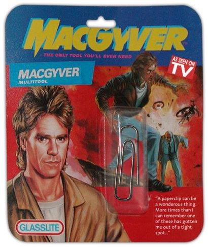 MacGyver, the specialist of generalists