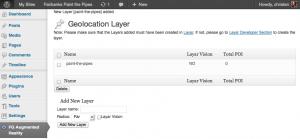 New POI layer